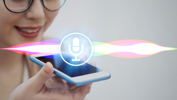 Voice recognition with smart phone.