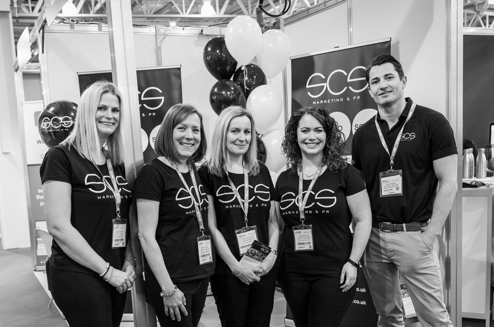 The SCS team at Marketing Week Live.